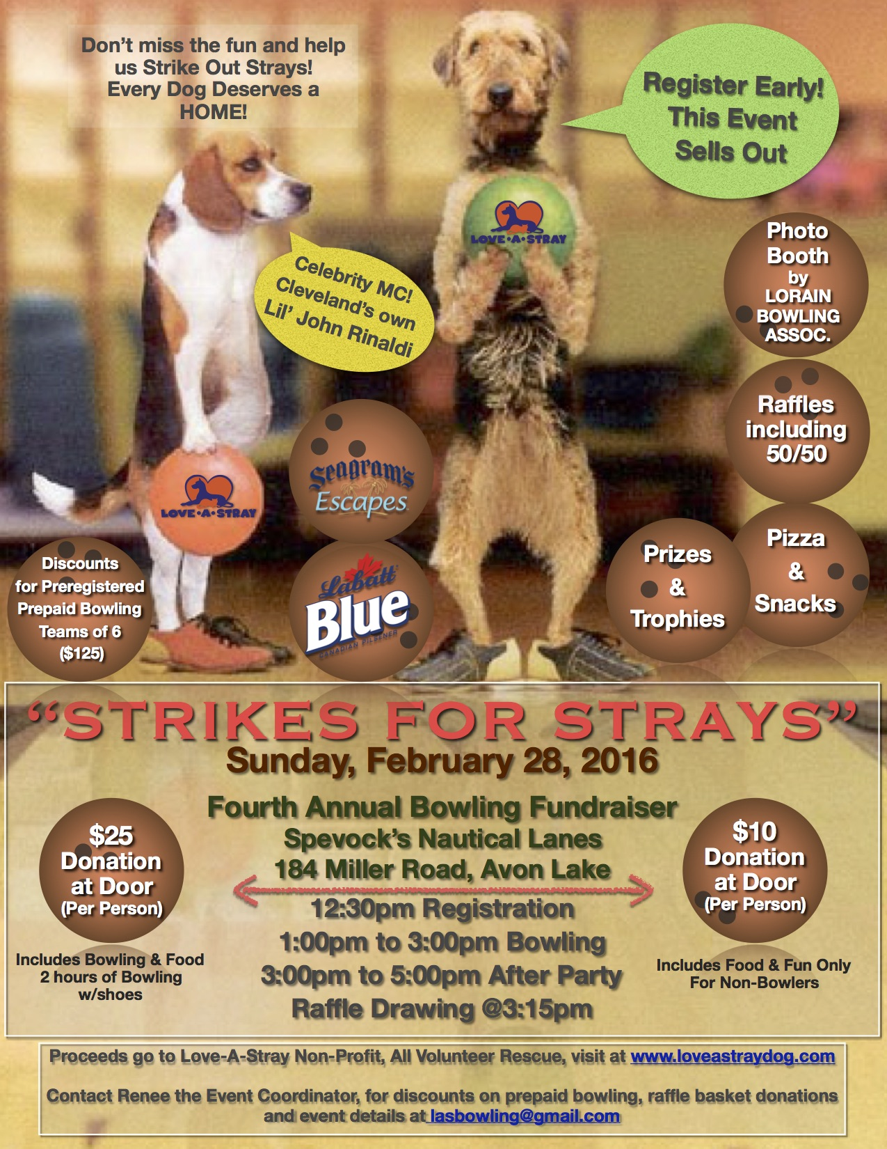 2016 Strikes for Strays Final