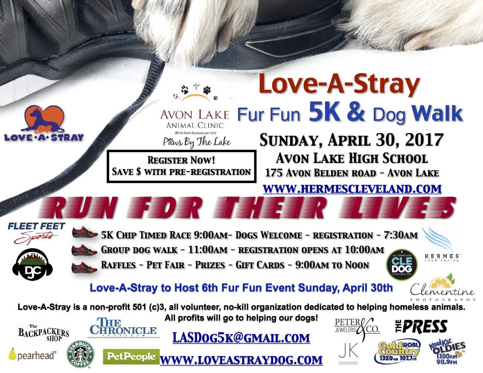 2017 Fur Fun 5K & Dog Walk