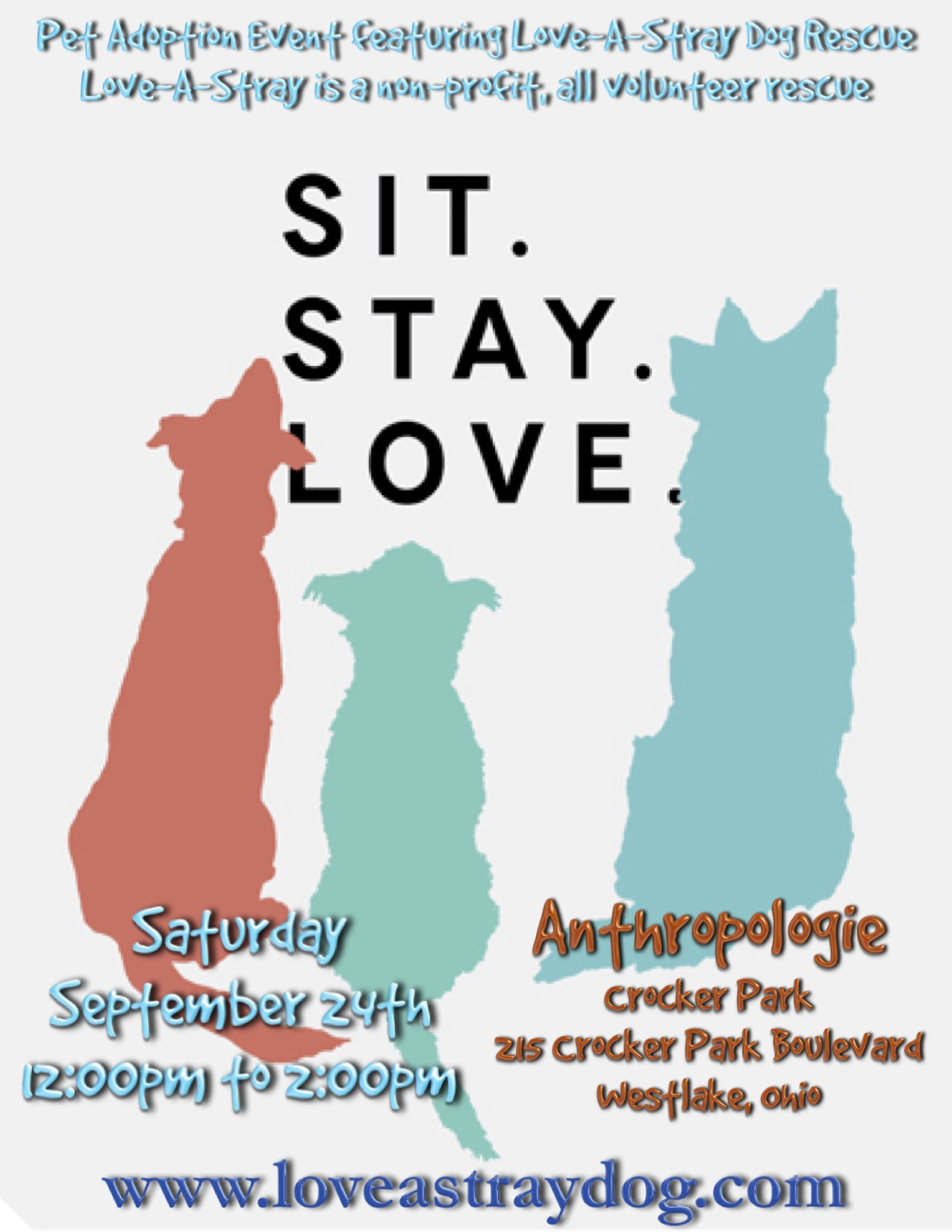 2016 Sit Stay Love Adoption Event