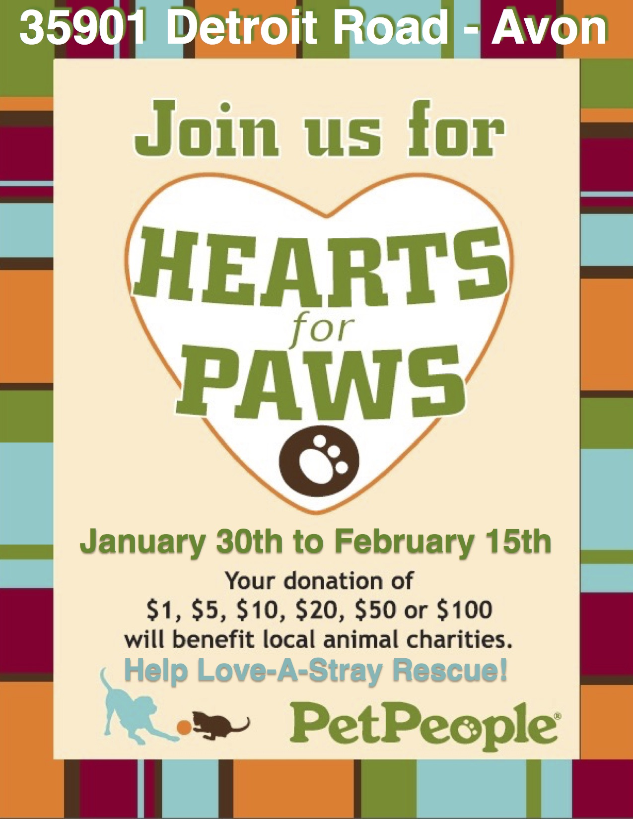 Hearts for Paws