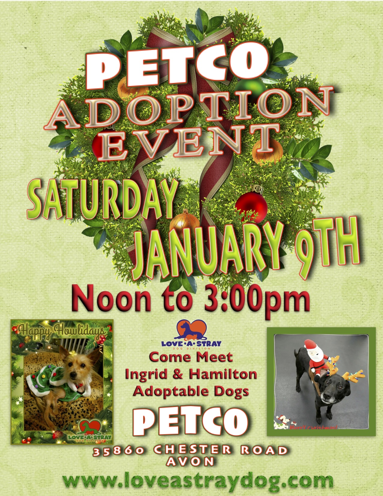 PETCO Adoption Event