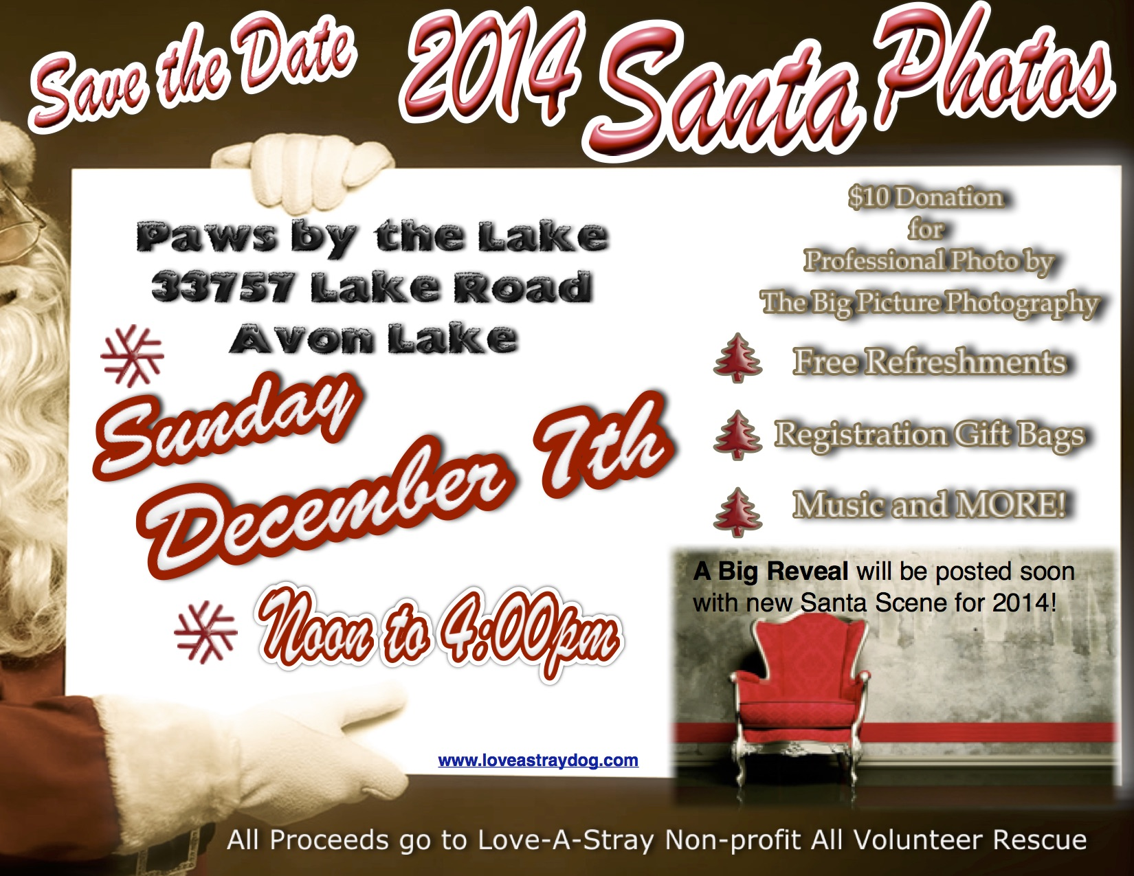Santa Photos Save The Date