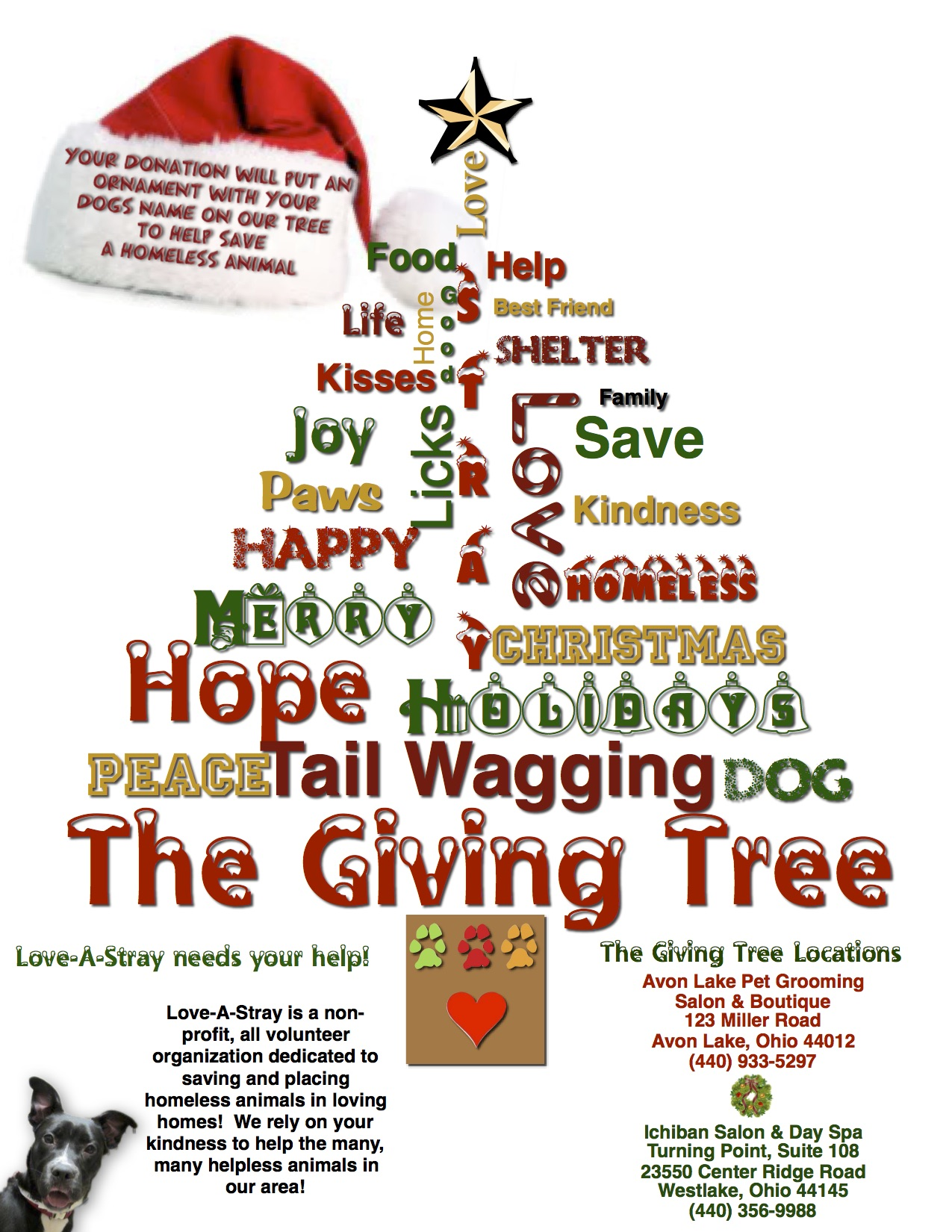 The Giving Tree Flyer
